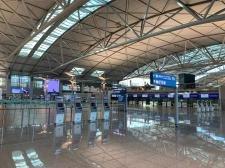[현장 포토] 한산하기만한 인천국제공항 1터미널
